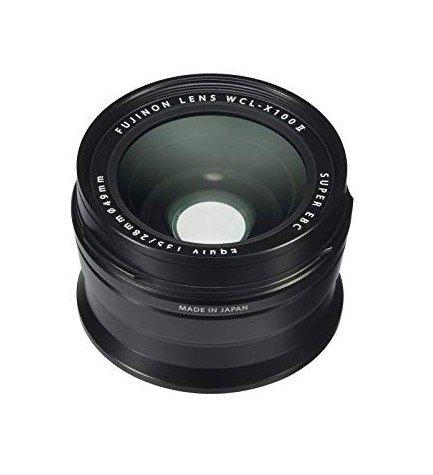 Fujifilm WCL-X100 II - Convertidor, gran angular, color Negro