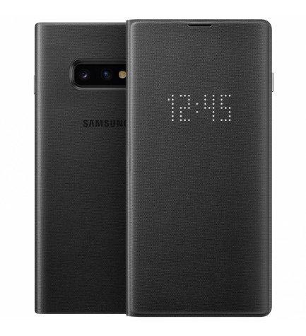 Samsung EF-NG970P Led View Cover - Funda, para Galaxy S10e, color Negro