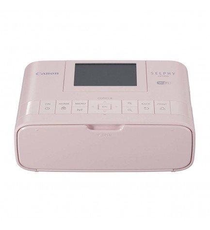 Canon Selphy CP1300 - Impresora fotográfica, WiFi, color Rosa