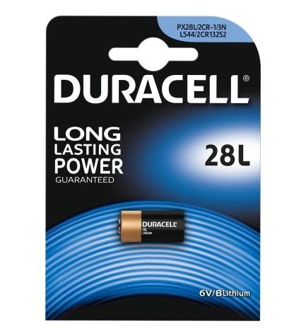 Duracell 28L 4LR44 - Pila, pack de 1