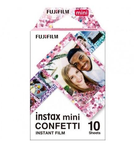 Fujifilm Instax Mini Film Confetti - Películas instantáneas, pack 10
