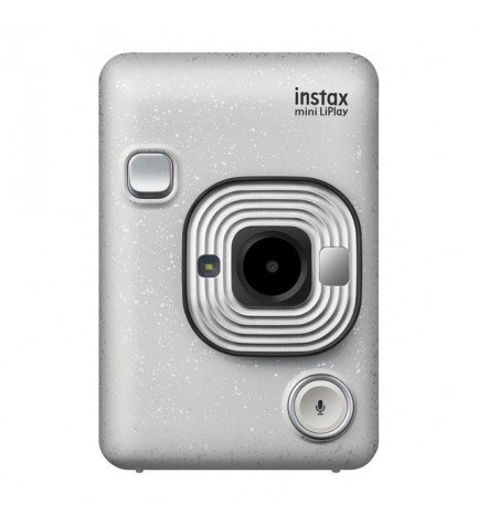 Fujifilm Instax Mini LIPLAY - Cámara instantánea, color Blanco