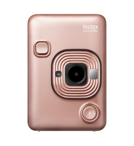 Fujifilm Instax Mini LIPLAY - Cámara instantánea, color Dorado