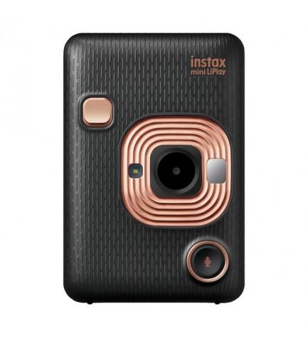 Fujifilm Instax Mini LIPLAY - Cámara instantánea, color Negro
