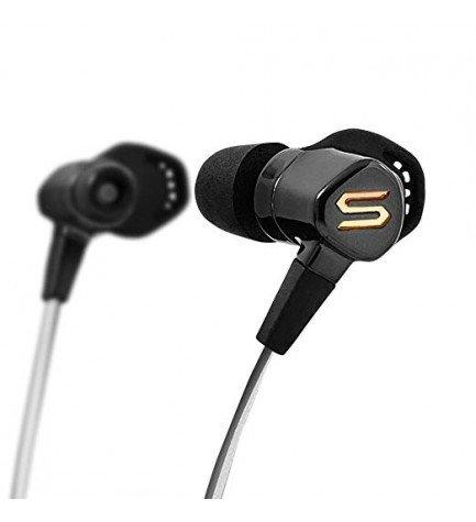 SOUL RUNFREE PRO - Auriculares deportivos, profesionales, bluetooth, autonomía 8h, color Negro