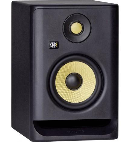 KRK RP5G4 - Monitor de estudio, profesional, alta fidelidad, color Negro