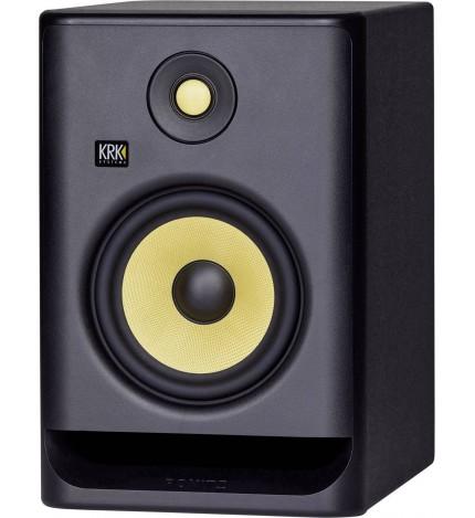 KRK RP7G4 - Monitor de estudio, profesional, alta fidelidad, color Negro