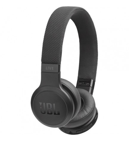 JBL LIVE 400 - Auriculares bluetooth, color Negro