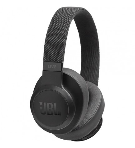 JBL LIVE 500 - Auriculares bluetooth, color Negro