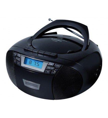 Sunstech CXUM53 - Reproductor portátil, lector de CD, color Negro