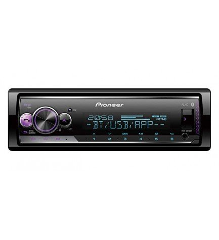 Pioneer MVH-S510BT - Autoradio, puerto USB, bluetooth, Spotify Connect