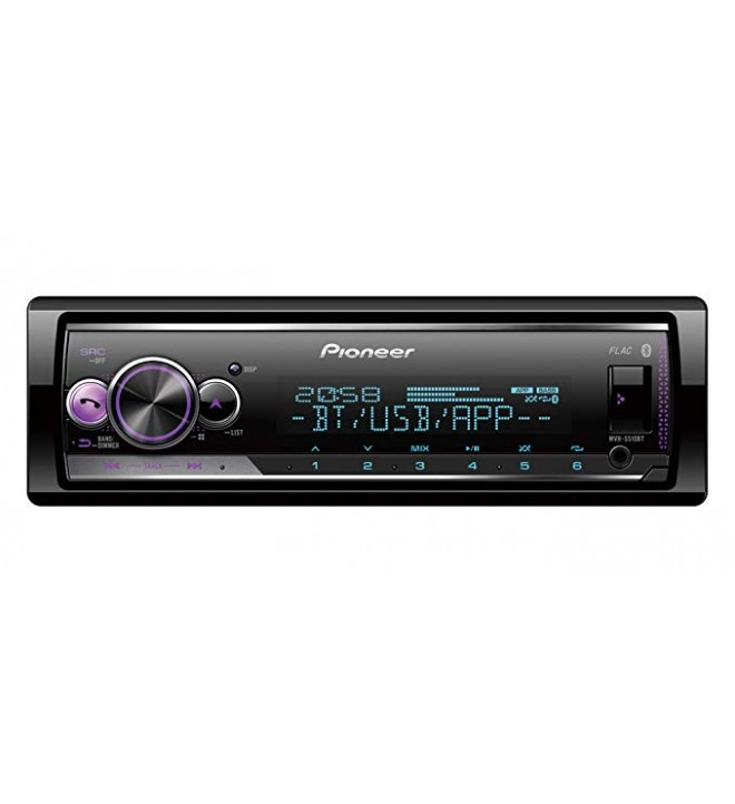 Pioneer MVH-S510BT - Autoradio, puerto USB, bluetooth, Spotify Connect