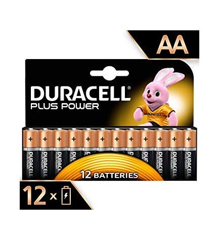 Duracell LR06 Plus Power - Pilas, pack 12