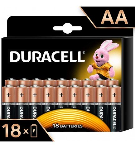 Duracell LR06 Plus Power - Pilas, pack 18