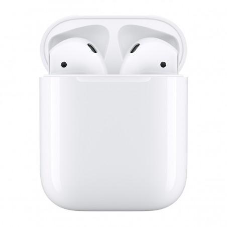Apple Airpods 2 - Auriculares de botón Apple AirPods 2ª Generación, color Blanco