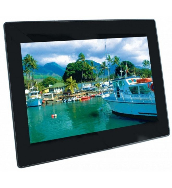 "Braun DigiFrame 1081 - Marco digital, 10.1"""", Full HD, MP3, encendido y apagado programable, (21193)"