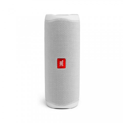 JBL Flip 5 - Altavoz Bluetooth, potencia 20W color Blanco
