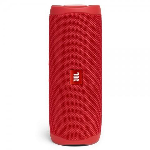 JBL Flip 5 - Altavoz Bluetooth, potencia 20W color Rojo