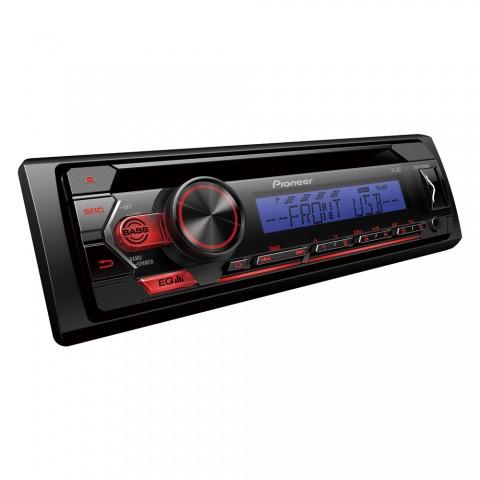 Pioneer DEH-S120UBB, Sintonizador CD 1-DIN con sintonizador RDS, USB, Aux-In, iluminación de color Azul