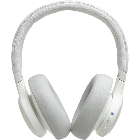 JBL Live 650BTNC - Auriculares Bluetooth, color Blanco
