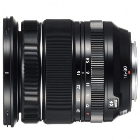 Objetivo Fujifilm XF 16-80mm F/4 R OIS WR color Negro