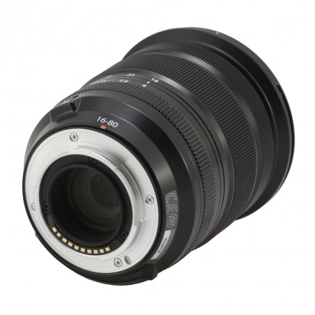 Objetivo Fujifilm XF 16-80mm F/4 R OIS WR color Negro 4547410416572
