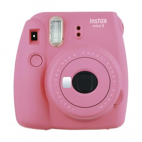 Fujifilm Instax Mini 9, cámara compacta instantánea, color Rosa Flamingo