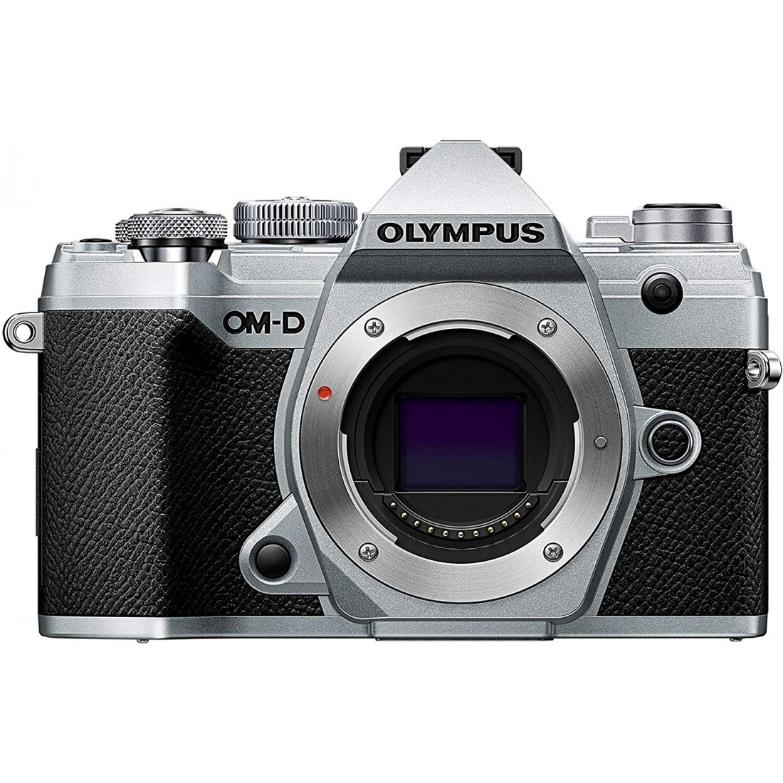 Olympus E-M5 Mark III + Objetivo 14-150mm f4-5-6 II, color Plata