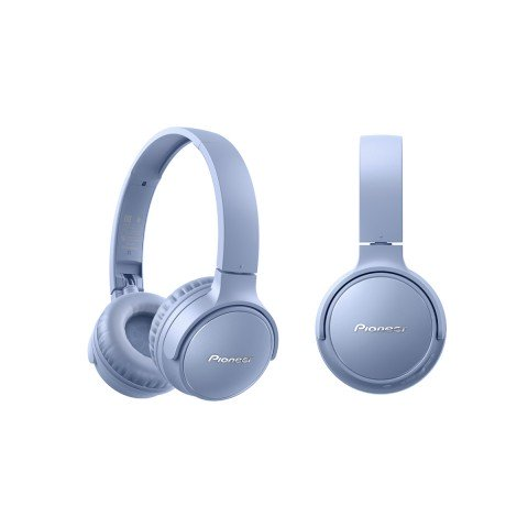 Pioneer S3 Wireless SE-S3BT, Auriculares Bluetooth 5.0, color Azul