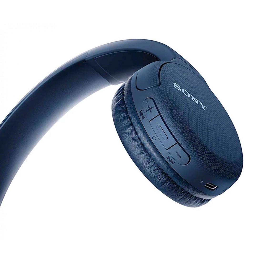 Auriculares inalámbricos SONY WH-CH510, bluetooth, color AZUL