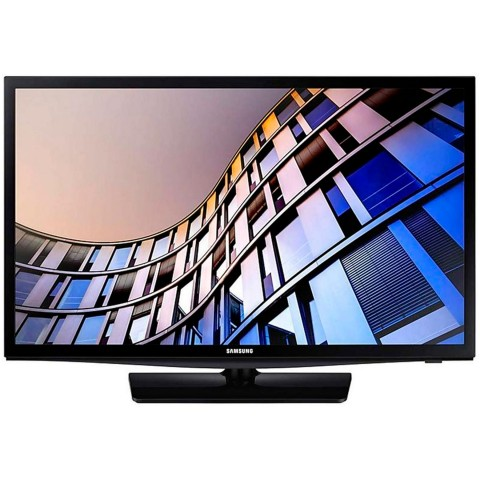 Samsung N4305 - Televisor LCD LED 28 pulgadas, Smart HD, HDMI, USB, WiFi, color Negro