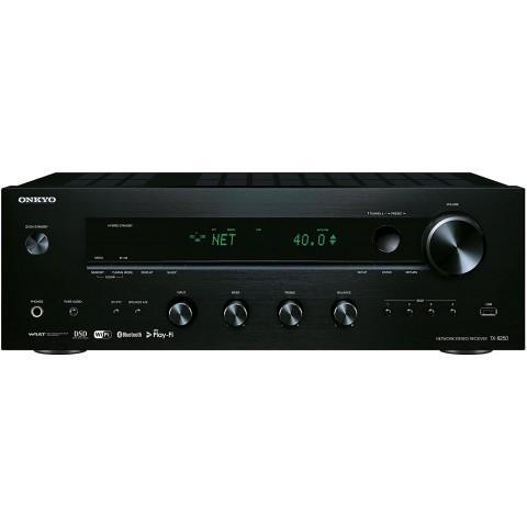 Onkyo TX-8250-B - Receptor - amplificador estéreo, 100W canal, Bluetooth, color Negro