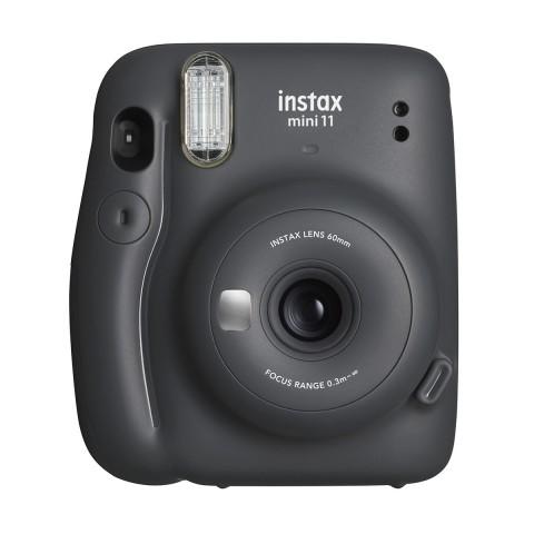 Cámara Instantánea Fujifilm Instax Mini 11, color Gris oscuro