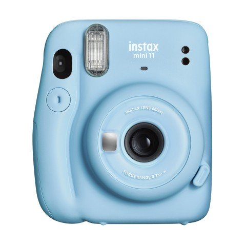 Cámara Instantánea Fujifilm Instax Mini 11, color Azul cielo