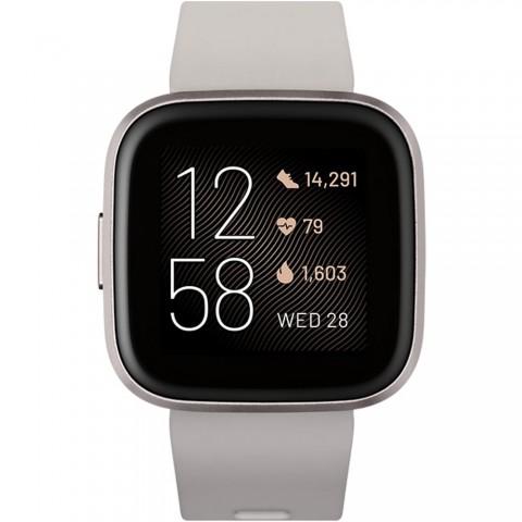 Smartwatch Fitbit Versa 2,Sensor de Frecuencia Cardíaca , WiFi, Bluetooth, color Gris