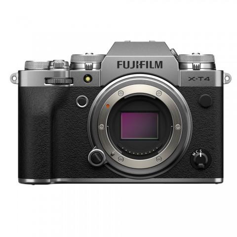 Cámara Evil Fujifilm X-T4, sólo cuerpo, Color Plata