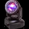 IBIZA LMH-ASTRO, Luz móvil cabezal astro, 6x3W RGB LED,  Sonido, control remoto