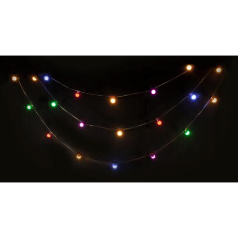 Guirnalda LED IBIZA LEDSTRING-COLOR, 10 metros, 20 bombillas