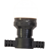 Guirnalda luminosa IBIZA LEDSTRING-WH, 20 LED, IP44, 10 metros, color Blanco Cálido
