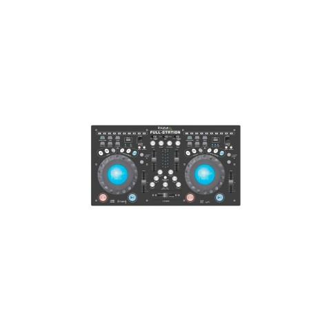 IBIZA FULL-STATION, controlador Dj, CD, MP3, color Negro