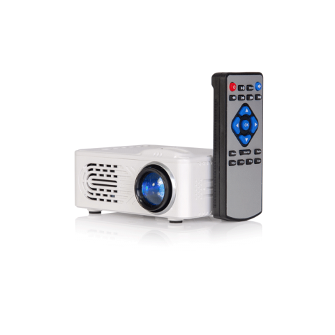 Proyector compacto LTC VP30-BAT, 30 Lumens, color Blanco