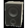 Subwofer LTC SW100,  100W, color Negro