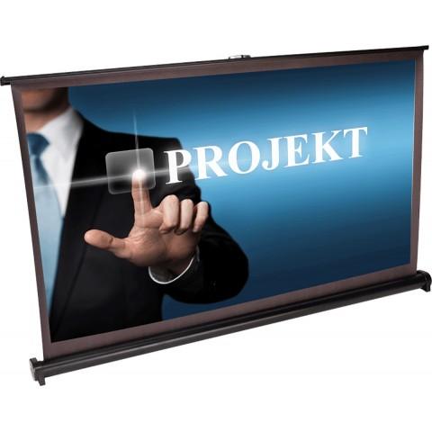 "Pantalla proyector LTC PST40 40"", incluye funda"