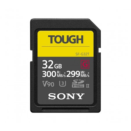 Tarjeta SONY Tought SF-G32T SDHC, 32GB, Clase 10