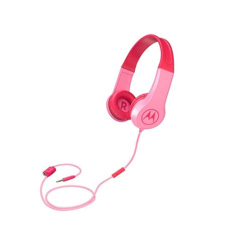 Auriculares para niños Motorola Squads 200, color Rosa