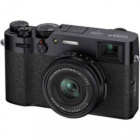 Cámara Fujifilm X100V, 26.1Mpx, 23mm, 4K, color Negro