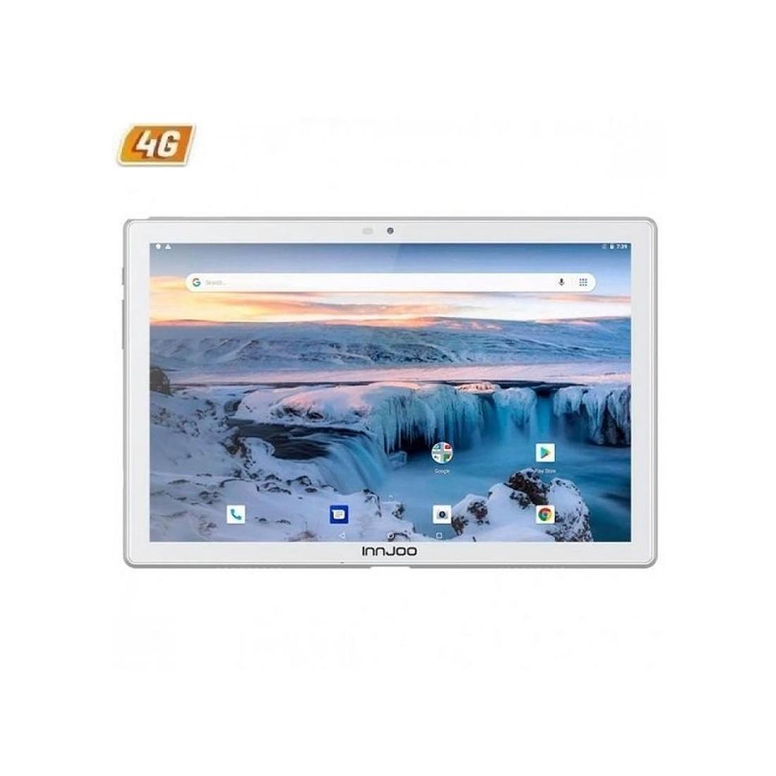 "Tablet INNJOO VOOM TAB 10.1"", 4Gm RAM, 64Gb memoria interna, 4G, color Blanco"