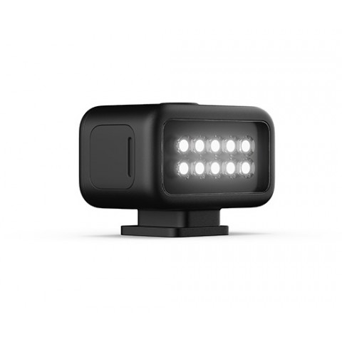 Foco LED GoPro ALTSC-001 200 Lúmenes para Hero8, color Negro