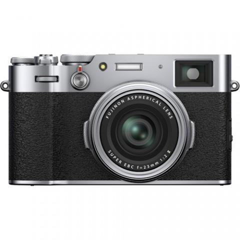 Fujifilm X100V, 26.1Mp, lente 23mm, 4K, WiFi, Bluetooth, color Plata