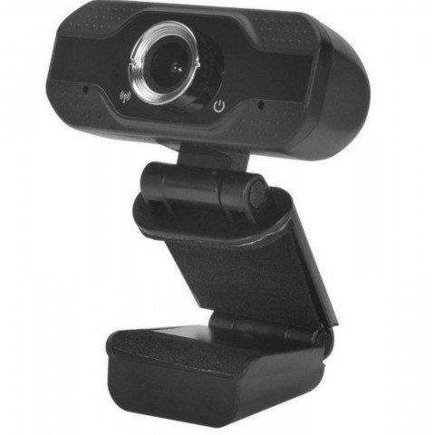 Cámara web Innjoo CAM01, FullHD, micrófono, USB 2.0, color Negro